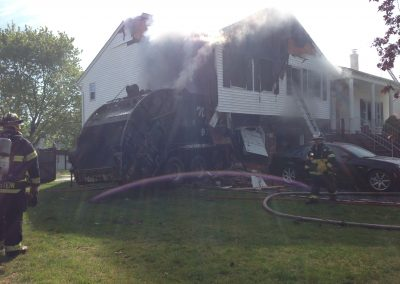 Whippany Fire Department - Garbage Truck House FireIMG_1326