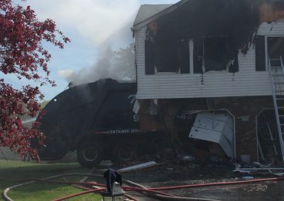 Whippany Fire Department - Garbage Truck House FireIMG_1338