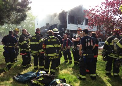 Whippany Fire Department - Garbage Truck House FireIMG_1358