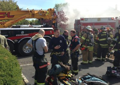 Whippany Fire Department - Garbage Truck House FireIMG_1375
