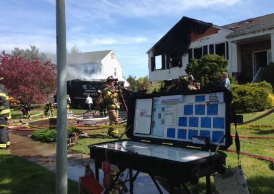 Whippany Fire Department - Garbage Truck House FireIMG_1386