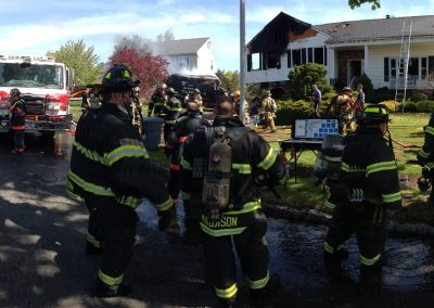 Whippany Fire Department - Garbage Truck House FireIMG_1388
