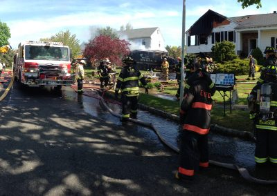 Whippany Fire Department - Garbage Truck House FireIMG_1389