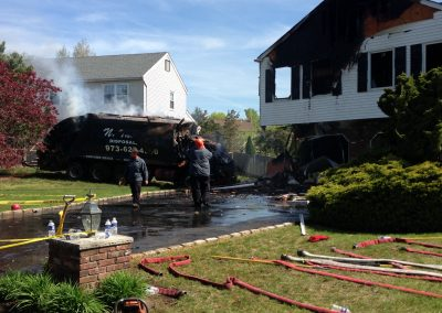 Whippany Fire Department - Garbage Truck House FireIMG_1399