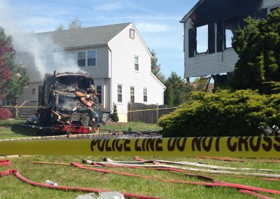 Whippany Fire Department - Garbage Truck House FireIMG_1411