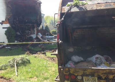 Whippany Fire Department - Garbage Truck House FireIMG_1428