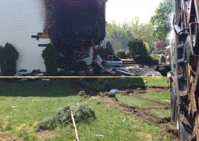 Whippany Fire Department - Garbage Truck House FireIMG_1429