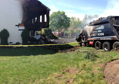 Whippany Fire Department - Garbage Truck House FireIMG_1435