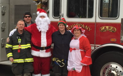Whippany Fire Department is helping Santa again this year…