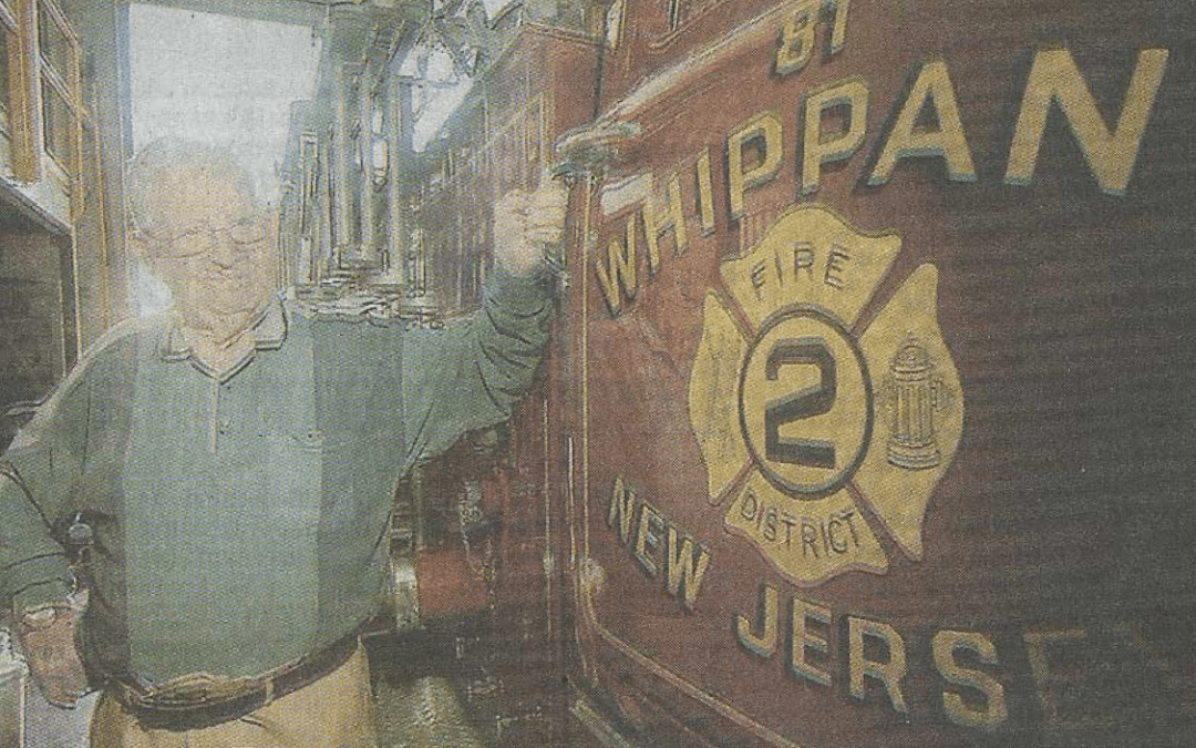 At 91, Whippany's oldest firefighter's still 'the man'