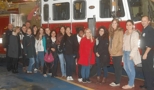 MORRIS COUNTY CULTURAL CARE AU PAIRS AND WHIPPANY FIRE DEPARTMENT FOCUS ON CHILDREN'S FIRE SAFETY