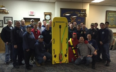 Preparing for an ice rescue – Whippany Fire Department's Ice Rescue Sled