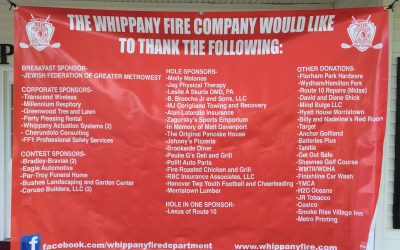 2016 Whippany Fire Company Golf Outing is a Huge Success!!
