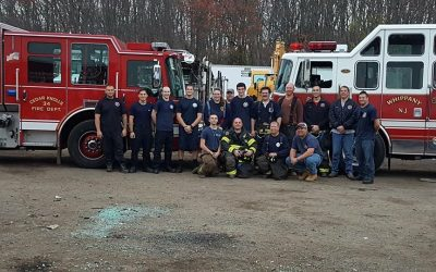 Whippany Fire Department participates in Vehicle Extrication class