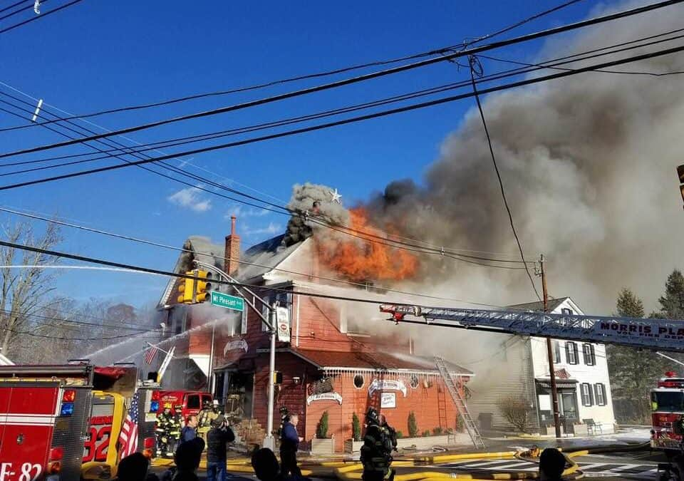 84-year-old Billy & Madeline's Red Room Tavern in Hanover destroyed by fire